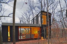 Stacked Cabin by Johnsen Schmaling Architects (8)