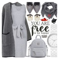 """""""Yoins/ Grey look"""" by pastelneon ❤ liked on Polyvore featuring DKNY, Sydney Evan, Alexis Bittar, yoins, yoinscollection and loveyoins"""