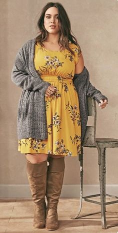 4bb932e1f40 100 Best Inspirations Fall Plus Size Outfit Trend 2017 You Have To Knows 073