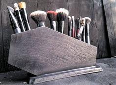 Coffin Makeup Brush Holder, Coffin, Gothic, Makeup, Makeup Organization, Brush Holder, Glam Goth, Makeup Brushes