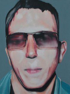 Eberhard Havekost (Artist) in Berlin (Germany) from re-