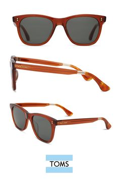 0c0edda7d834 Fitzpatrick Red Rock Crystal. Toms SunglassesToms ...