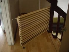 great (+ good-looking) do-it-yourself baby gate