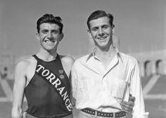 Louis Zamperini - Olympic athlete, World War II hero and all-around good guy.