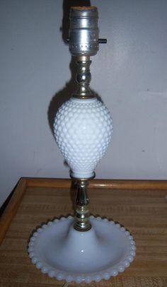 milk glass lamps | Milk Glass Lamp