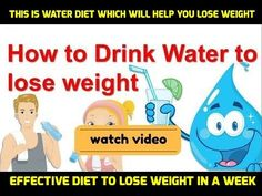 This Is Water Diet Which Will Help You Lose Weight | Effective Diet to Lose Weight in a Week