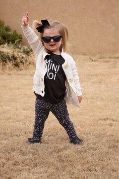 Mini Moi // Mini Me // Charcoal Black Tri-Blend Infant Child Youth T-Shirt // French // Unisex Modern Kid's Clothing // Monochrome Monochrome Fashion, Charcoal Black, Modern Kids, Stylish Kids, Kid Styles, Mini Me, Handmade Clothes, Girl Style, Kids Wear