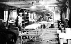 107th Evacuation Hospital at Clervaux, Luxembourg, 1944