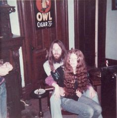 This vintage photo of The Cramps' Lux Interior and Poison Ivy—taken in April of 1972—is starting to make the rounds on Facebook. Consider my mind blown.