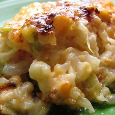 Louanne's Kitchen: Loaded Cauliflower Casserole. We tried this using Alison's Pantry winter blend of broccoli and cauliflower and it was delicious.