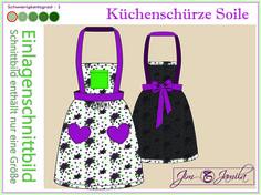 Ist das noch eine Schürze oder schon ein Kleid? Es gibt sie in verschiedensten Varianten und Farben, das sind die Kleidungsstücke, die nach einem langen Arbeitstag unsere Laune erheblich aufheitern und uns in Küchenfeen verwandeln. Da sind wir nicht mehr Putzen und Köchinnen. Wir sind Ballerinas der Schöpflöffel und Beschwörerinnen der heiligen Ordnung.