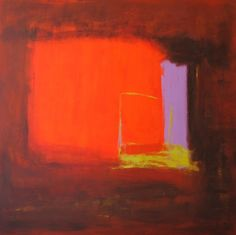 Contemporary abstract paintings: inspired by Samhain, autumn, fall. - Michelle Cobbin