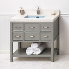 "Newcastle 36"" Single Bathroom Vanity Set   Wayfair"