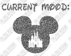 Current Mood Disneyland Mickey Mouse Cut File Set in SVG, EPS, DXF, JPEG, and PNG