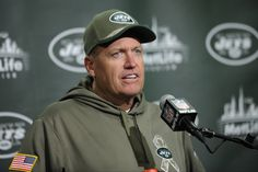 NEW YORK (AP) -- New York Jets coach Rex Ryan has been fined $100,000 for his postgame use of profanity that was picked up on video last Sunday.