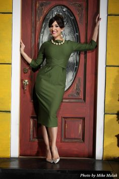 Vintage Heaven  - Vicki Dress in Green, $225.00 (http://www.vintageheaven.co.nz/vicki-dress-in-green/)