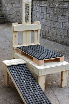 I need one of these for my goat(s) (except a spot to store  the milker and a seat pillow underneath)