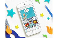 Seedling Comic Studio iOS app for kids