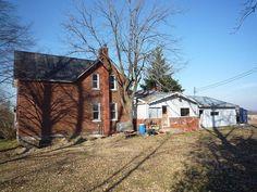 Sarah Richardson's farmhouse Before