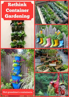 It's time to think beyond the nursery pots on the front porch. Container gardening can offer so much more. Suit your style and personality through the pots you choose.