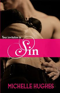 The official cover for Sin... available now on Nook, Kindle, Kobo and Paperback