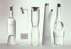 These beautifull shaped bottles were conceived by New York-based design firm Arnell. (Accidentally, this is also the agency responsible for the Pepsi re-branding…!)