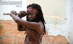 The Walking Dead : 1ère photo de Michonne