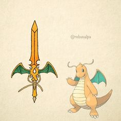 No. 149 - Dragonite. #pokemon #dragonite #blade #pokeapon
