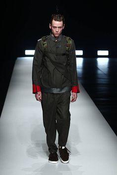 Yoshio Kubo Fall/Winter 2016/2017 - Mercedes-Benz Fashion Week Tokyo Tokyo Fashion, Mens Fashion, Canada Goose Jackets, Automobile, Autumn Fashion, Fall Winter, Winter Jackets, Mercedes Benz, Style