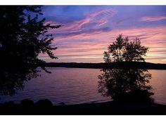 Rangeley Lake, ME Sunset