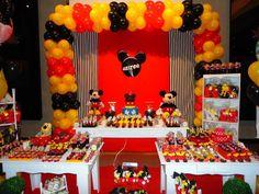 Decoração aniversário Mickey