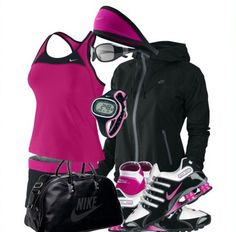 complete outfits for women | Cool Nike Sports Outfits For women