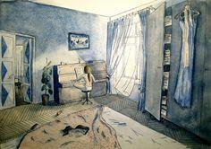 A Calming Room: Maria Soboleva   Sketches & Jottings