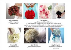 Bridal Bouquet and the meaning of flowers! La Concha Weddings