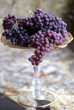 Great was to display/keep grapes out for snacking