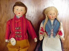 Martta dolls from Finland Hand Puppets, Madame Alexander, My Heritage, Doll Houses, Vintage Dolls, Doll Patterns, Folklore, Beautiful Hands, Old And New