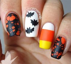halloween-acrylic-nails-art-designs-Idea,-trends-stickers-2014