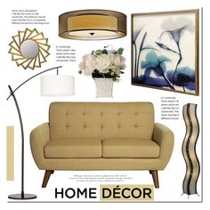 Home decor with Lampsplus by mada-malureanu on Polyvore featuring interior, interiors, interior design, home, home decor, interior decorating, Hemingway, Possini Euro Design, Sonneman and Universal Lighting and Decor