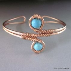 https://www.lexibutlerdesigns.com/products/adjustable-copper-turquoise-wire-wrap-bangle?utm_campaign=Pinterest Buy Button