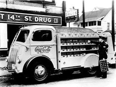 1941 Ford Coca Cola COE Bottlers Truck