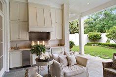 Beautiful outdoor living.
