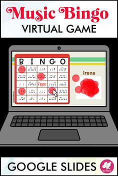 This rhythm Bingo game is a perfect activity to use while teaching virutally. It is played on Google Slides so you can easily assign it in Google Classroom. Watch in real time as your students listen and identify rhythm patterns. You can also choose to hide or display the teacher card as you play. This will be a fun activity to use for music distance learning and there are multiple levels so you can use it across grade levels. Includes quarter notes, quarter rests, beamed 8th notes, half…