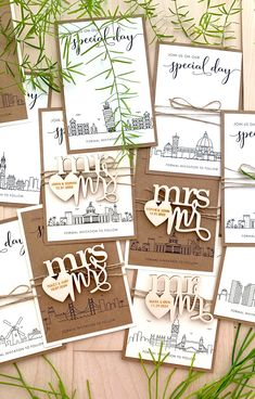 Wooden magnet save the dates with 4 honorific titles ready to choose. Innovate the traditional Save the Date card with these City Skylines Magnet Save the Dates. Find more on the website. Rustic Wedding Stationery, Laser Cut Wedding Invitations, Destination Wedding Invitations, Invites, Save The Date Magnets, Save The Date Cards, Laser Cut Save The Dates, Rustic Wedding Save The Dates, City Skylines