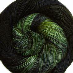 sw wool nylon sock yarn HEDGEHOG in the FOG by lanitiumexmachina
