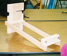 card weaving loom