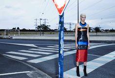 Dior New Couture - 2015 -  Art Director Fabien Baron Stylist Panos Yiapanis Hairstylist : Tomohiro Ohashi Make artist : Violette Manicure : Typhaine Kersual Set Designer : Jean-Hugues de Chatillon