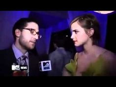 "Emma Watson: ""Perks of Being a Wallflower"": Interview - MTV Movie Awards"