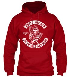 Detroit Red Wings - Fear the Reaper Hoodie #SOA #NHL #Hockey