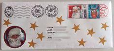 Recibiendo la carta de papá Noel desde el polo norte!!!