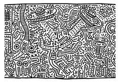 coloring-adult-keith-haring-8, From the gallery : Art